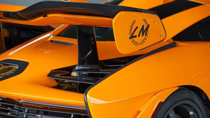 McLaren Senna LM – a special 5-unit nod to the F1 LM Image #1174112