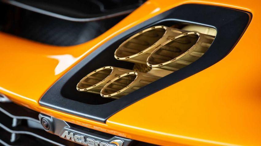 McLaren Senna LM – a special 5-unit nod to the F1 LM Image #1174104