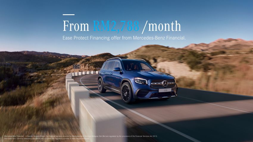 AD: Own a Mercedes-Benz GLB with peace of mind through EaseProtect Financing – from RM2,788/mth Image #1186884