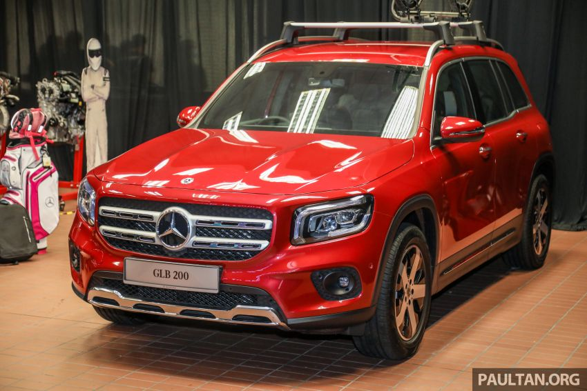 X247 Mercedes-Benz GLB SUV launched in Malaysia – seven-seat GLB200, GLB250 4Matic; from RM269k Image #1180467