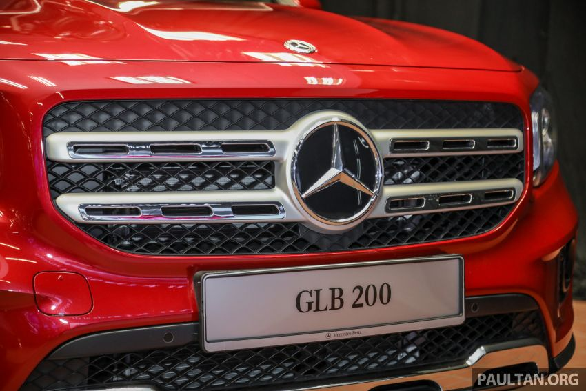 X247 Mercedes-Benz GLB SUV launched in Malaysia – seven-seat GLB200, GLB250 4Matic; from RM269k Image #1180477