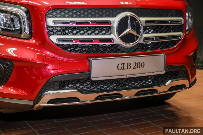 X247 Mercedes-Benz GLB SUV launched in Malaysia – seven-seat GLB200, GLB250 4Matic; from RM269k Image #1180478