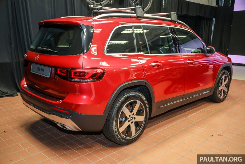 X247 Mercedes-Benz GLB SUV launched in Malaysia – seven-seat GLB200, GLB250 4Matic; from RM269k Image #1180469
