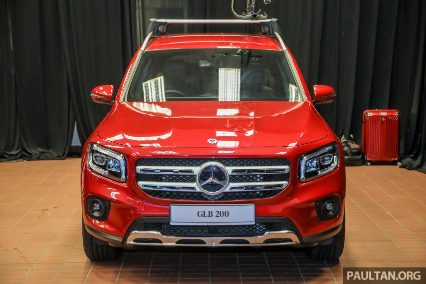 X247 Mercedes-Benz GLB SUV launched in Malaysia – seven-seat GLB200, GLB250 4Matic; from RM269k Image #1180471