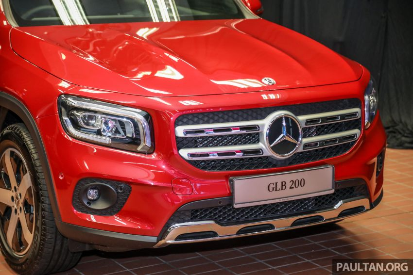 X247 Mercedes-Benz GLB SUV launched in Malaysia – seven-seat GLB200, GLB250 4Matic; from RM269k Image #1180473