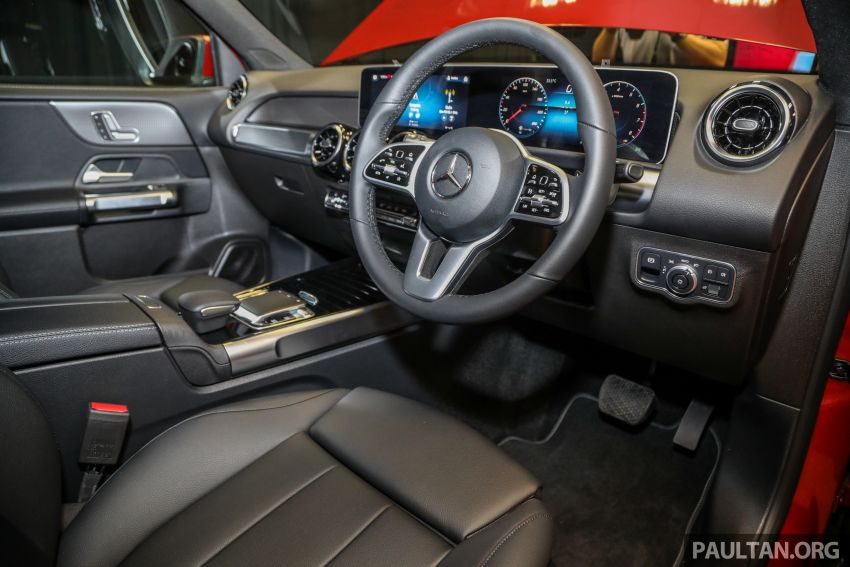 X247 Mercedes-Benz GLB SUV launched in Malaysia – seven-seat GLB200, GLB250 4Matic; from RM269k Image #1180499