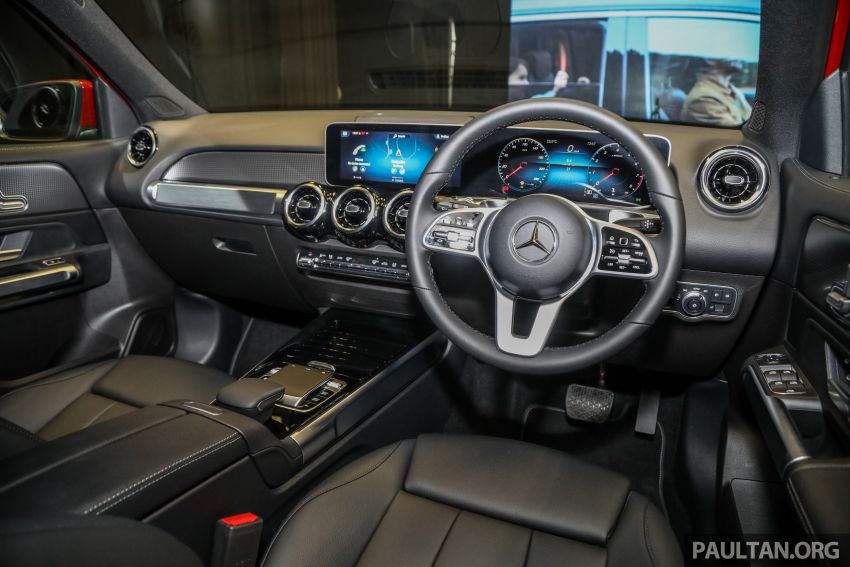 X247 Mercedes-Benz GLB SUV launched in Malaysia – seven-seat GLB200, GLB250 4Matic; from RM269k Image #1180514