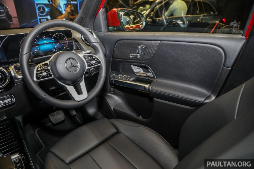 X247 Mercedes-Benz GLB SUV launched in Malaysia – seven-seat GLB200, GLB250 4Matic; from RM269k Image #1180515