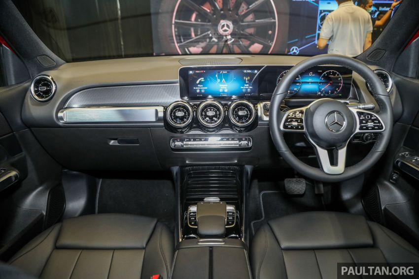 X247 Mercedes-Benz GLB SUV launched in Malaysia – seven-seat GLB200, GLB250 4Matic; from RM269k Image #1180500