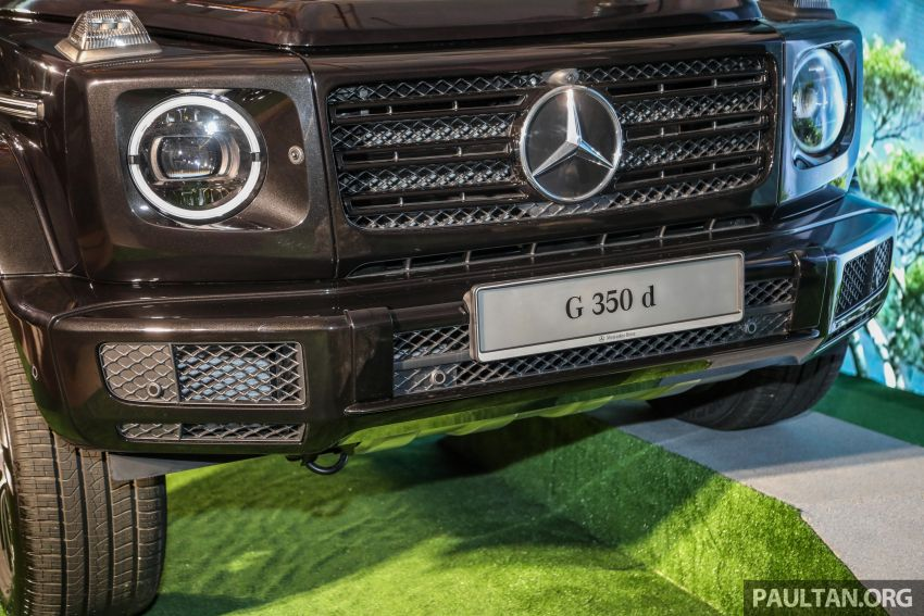 Mercedes-Benz G350d debuts in Malaysia – RM1 mil Image #1180305