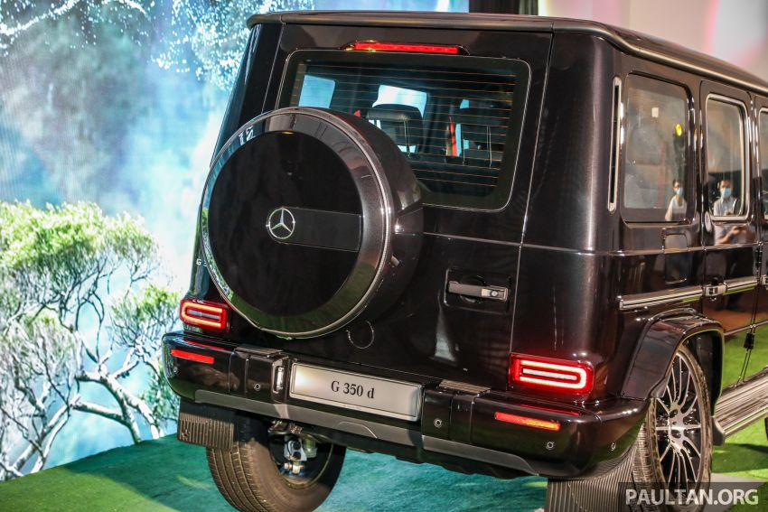 Mercedes-Benz G350d debuts in Malaysia – RM1 mil Image #1180321