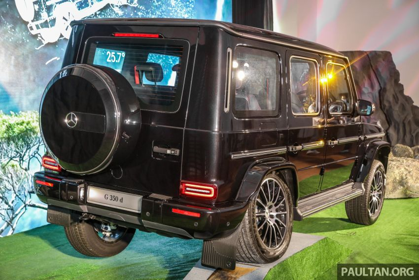 Mercedes-Benz G350d debuts in Malaysia – RM1 mil Image #1180286