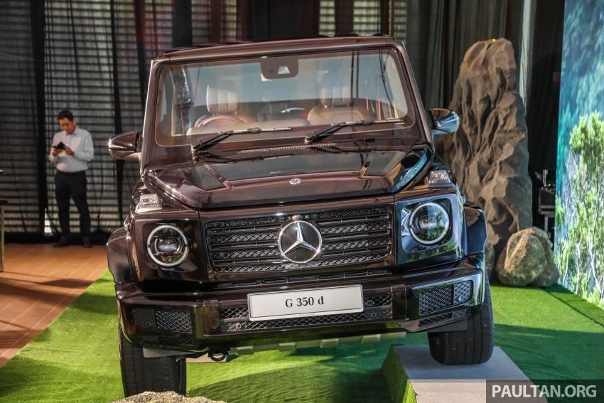 Mercedes-Benz G350d debuts in Malaysia – RM1 mil Image #1180288