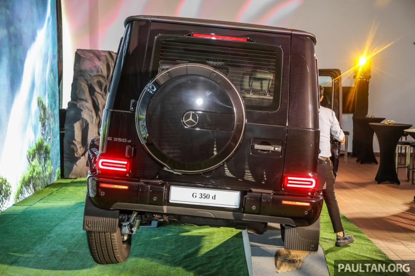 Mercedes-Benz G350d debuts in Malaysia – RM1 mil Image #1180290
