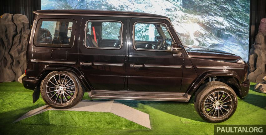 Mercedes-Benz G350d debuts in Malaysia – RM1 mil Image #1180292