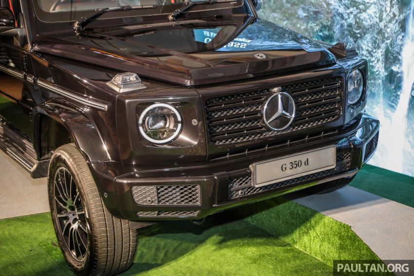 Mercedes-Benz G350d debuts in Malaysia – RM1 mil Image #1180295