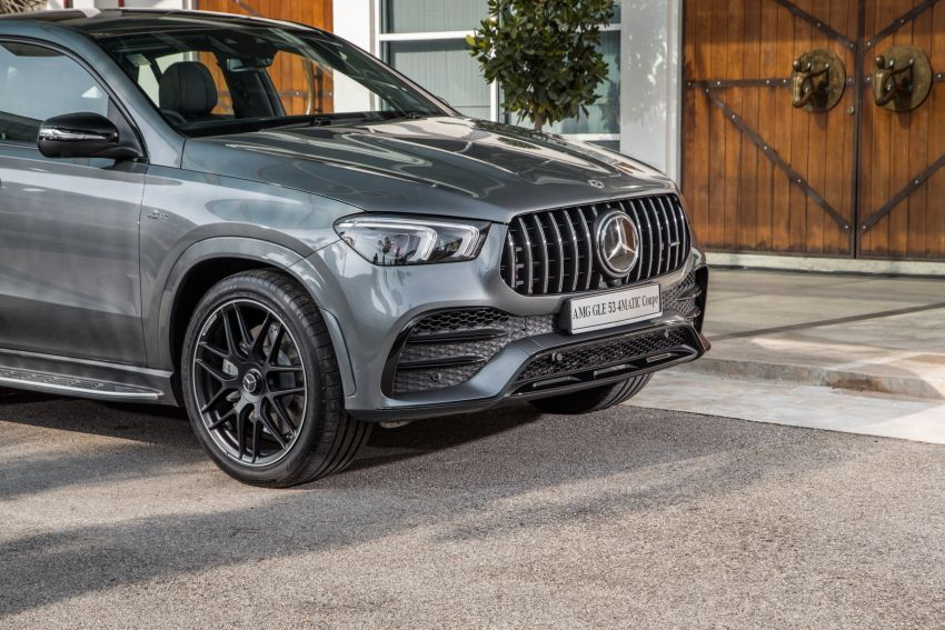 2020 Mercedes-Benz GLE Coupe launched in Malaysia – C167 GLE450 and AMG GLE53, RM661k to RM787k Image #1174946