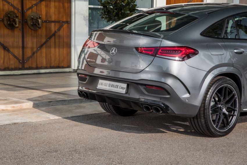 2020 Mercedes-Benz GLE Coupe launched in Malaysia – C167 GLE450 and AMG GLE53, RM661k to RM787k Image #1174949