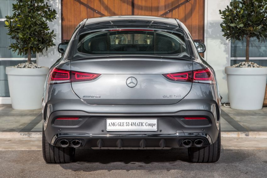 2020 Mercedes-Benz GLE Coupe launched in Malaysia – C167 GLE450 and AMG GLE53, RM661k to RM787k Image #1174950