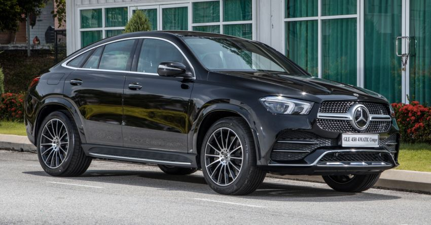 2020 Mercedes-Benz GLE Coupe launched in Malaysia – C167 GLE450 and AMG GLE53, RM661k to RM787k Image #1174918