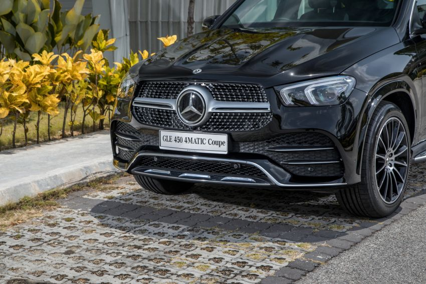2020 Mercedes-Benz GLE Coupe launched in Malaysia – C167 GLE450 and AMG GLE53, RM661k to RM787k Image #1174919