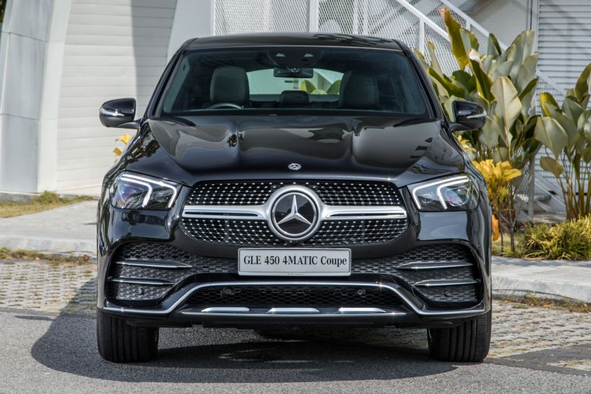 2020 Mercedes-Benz GLE Coupe launched in Malaysia – C167 GLE450 and AMG GLE53, RM661k to RM787k Image #1174920