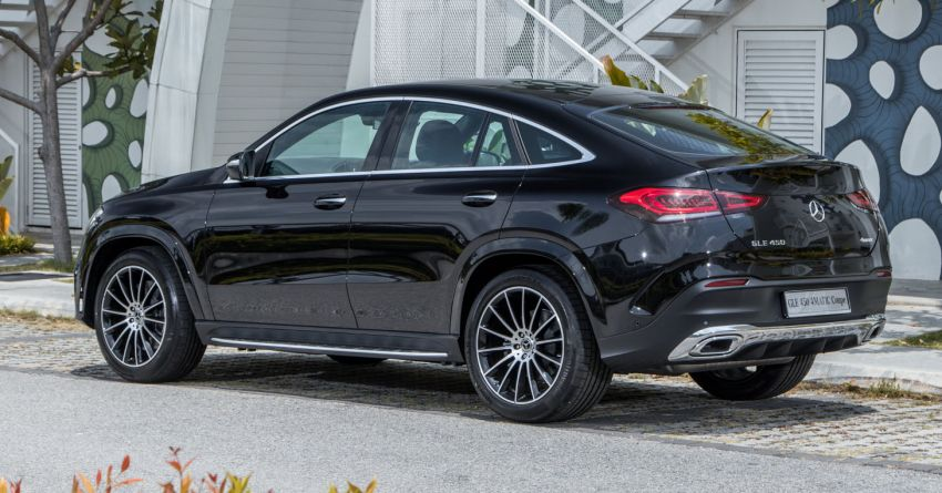 2020 Mercedes-Benz GLE Coupe launched in Malaysia – C167 GLE450 and AMG GLE53, RM661k to RM787k Image #1174921