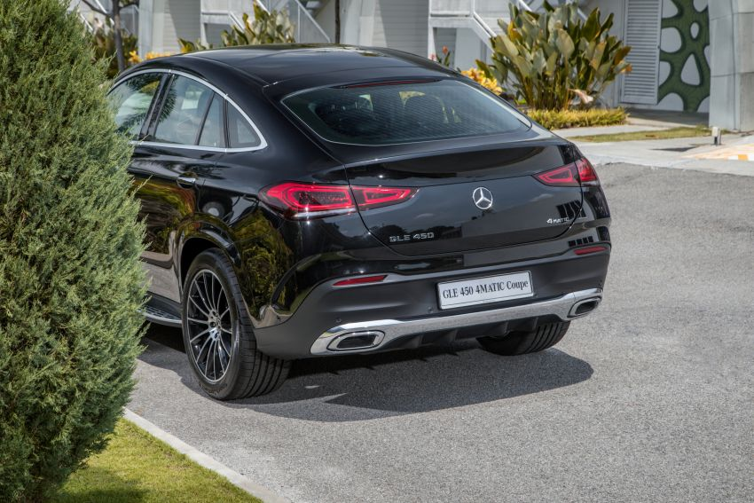 2020 Mercedes-Benz GLE Coupe launched in Malaysia – C167 GLE450 and AMG GLE53, RM661k to RM787k Image #1174923