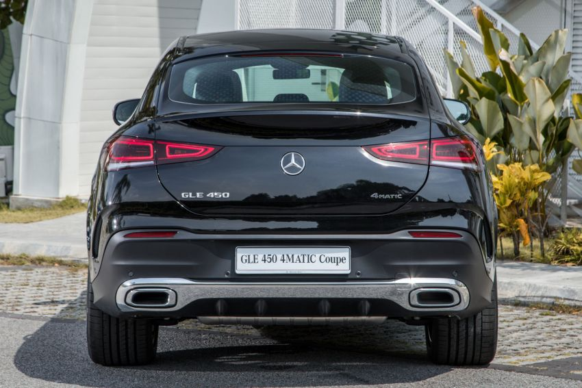 2020 Mercedes-Benz GLE Coupe launched in Malaysia – C167 GLE450 and AMG GLE53, RM661k to RM787k Image #1174926