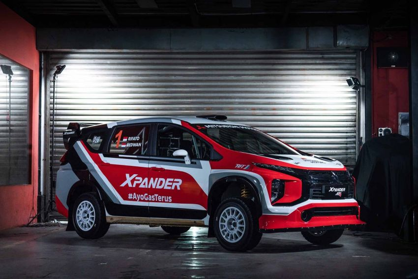 Mitsubishi Xpander AP4 – crossover turned rally car with 350 hp/556 Nm Evolution X engine, all-wheel drive Image #1172770