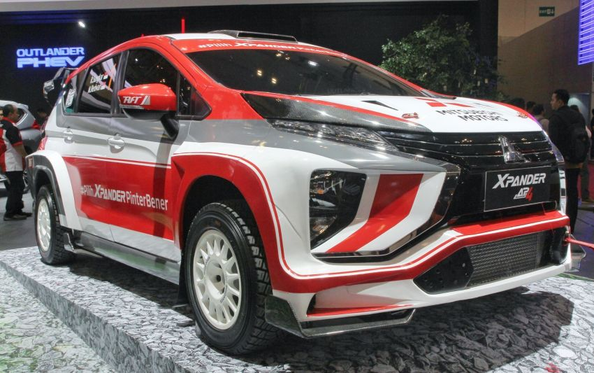 Mitsubishi Xpander AP4 – crossover turned rally car with 350 hp/556 Nm Evolution X engine, all-wheel drive Image #1172771
