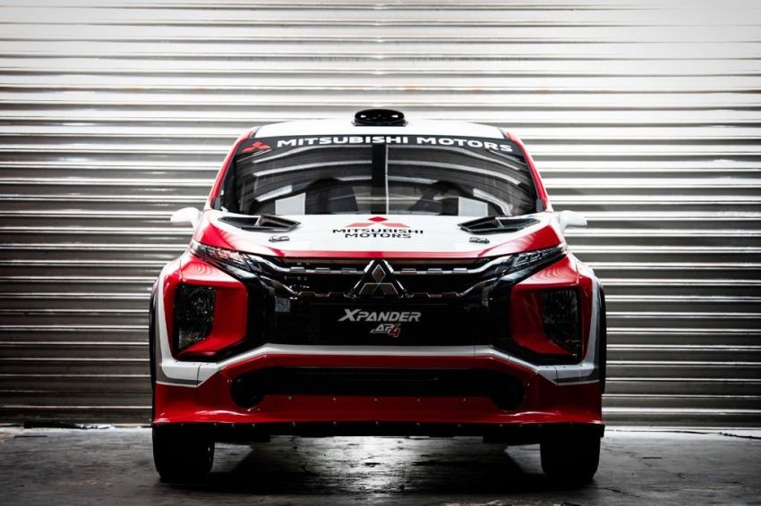 Mitsubishi Xpander AP4 – crossover turned rally car with 350 hp/556 Nm Evolution X engine, all-wheel drive Image #1172772
