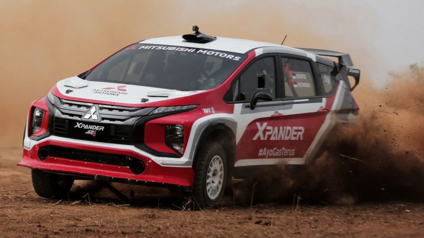 Mitsubishi Xpander AP4 – crossover turned rally car with 350 hp/556 Nm Evolution X engine, all-wheel drive Image #1172776