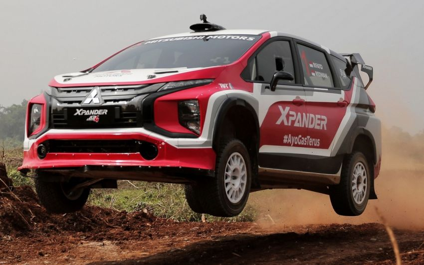 Mitsubishi Xpander AP4 – crossover turned rally car with 350 hp/556 Nm Evolution X engine, all-wheel drive Image #1172777