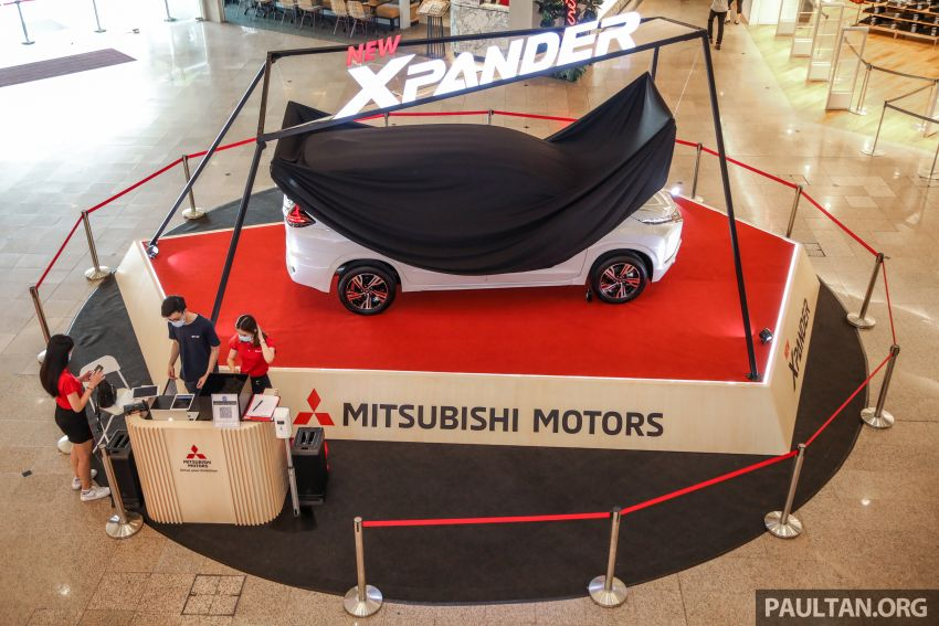 2020 Mitsubishi Xpander previewed in Malaysia – CKD, facelift, 360-degree cam, Apple CarPlay, black interior Image #1172966