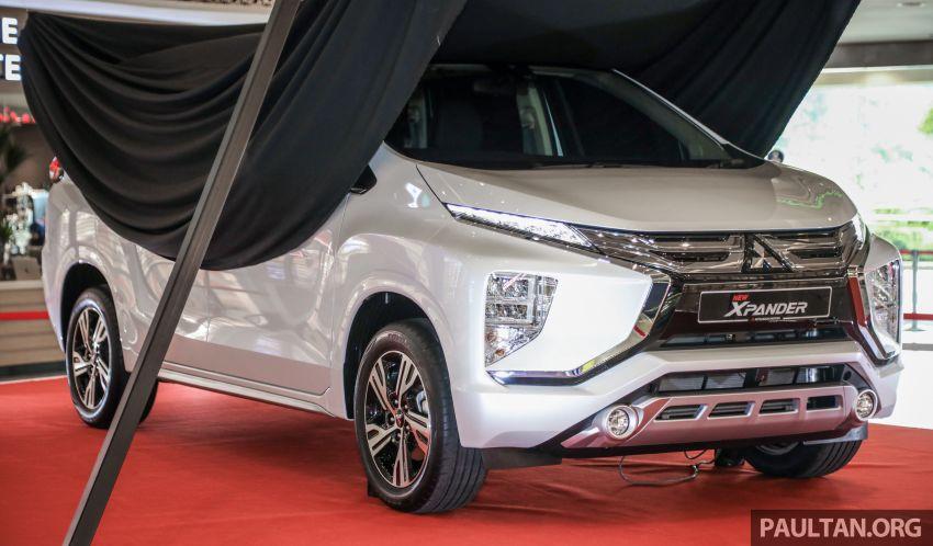 2020 Mitsubishi Xpander previewed in Malaysia – CKD, facelift, 360-degree cam, Apple CarPlay, black interior Image #1172979