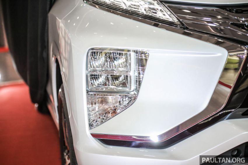 2020 Mitsubishi Xpander previewed in Malaysia – CKD, facelift, 360-degree cam, Apple CarPlay, black interior Image #1172991