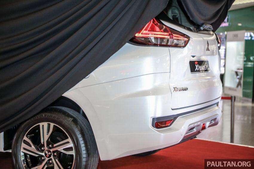 2020 Mitsubishi Xpander previewed in Malaysia – CKD, facelift, 360-degree cam, Apple CarPlay, black interior Image #1173005