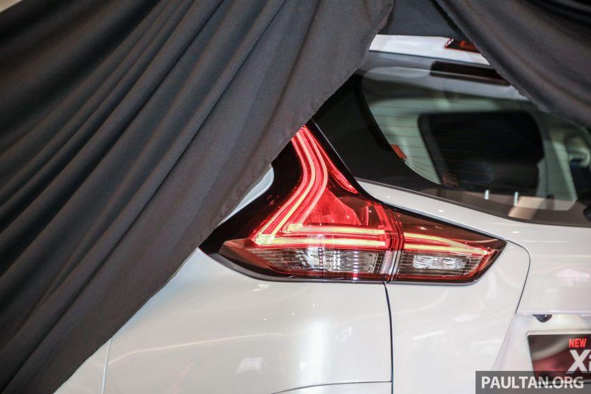 2020 Mitsubishi Xpander previewed in Malaysia – CKD, facelift, 360-degree cam, Apple CarPlay, black interior Image #1173007