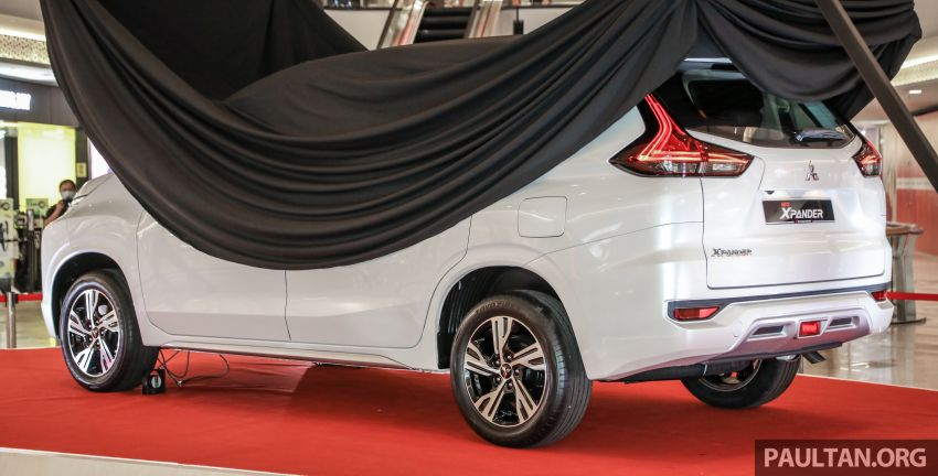 2020 Mitsubishi Xpander previewed in Malaysia – CKD, facelift, 360-degree cam, Apple CarPlay, black interior Image #1172981