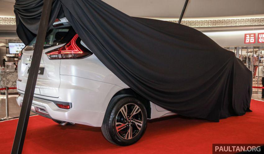 2020 Mitsubishi Xpander previewed in Malaysia – CKD, facelift, 360-degree cam, Apple CarPlay, black interior Image #1172982