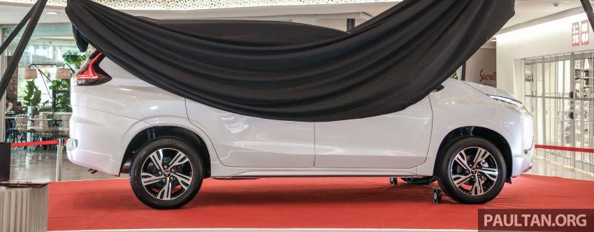 2020 Mitsubishi Xpander previewed in Malaysia – CKD, facelift, 360-degree cam, Apple CarPlay, black interior Image #1172985
