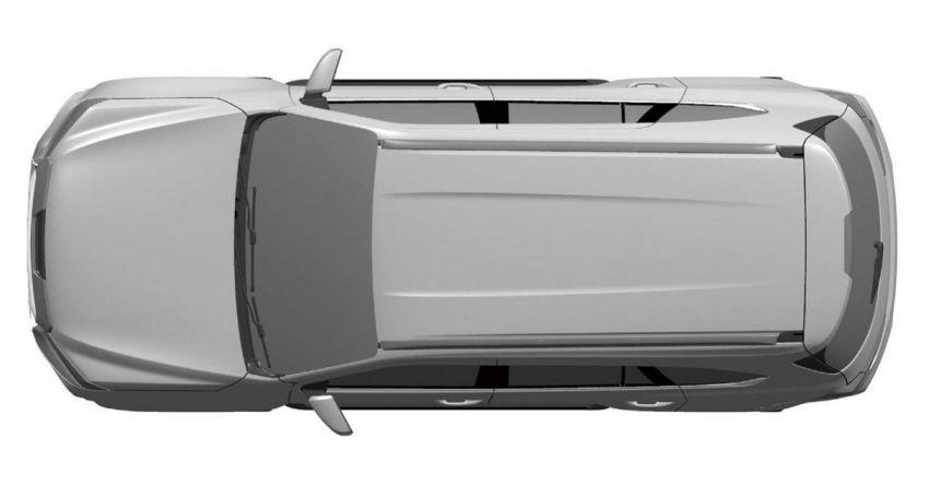 Isuzu MU-X generasi seterusnya – imej paten terdedah Image #1185154