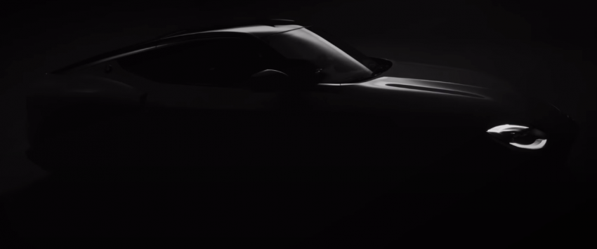 Nissan Z Proto – teaser shows more of 400Z preview Image #1172995