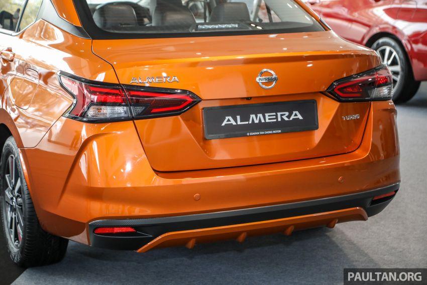 Nissan Almera 2020 di M'sia — perincian lengkap spesifikasi tiga varian, 1.0 liter turbo/CVT, dari RM8Xk Image #1171505