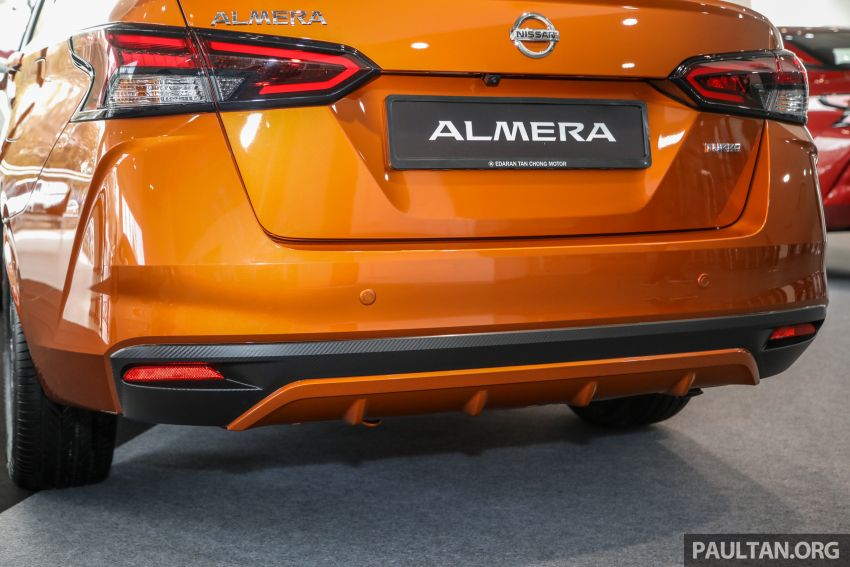 2020 Nissan Almera Turbo in Malaysia – 1.0 litre turbo CVT, AEB on all three variants, from RM8xk to RM9xk Image #1171764