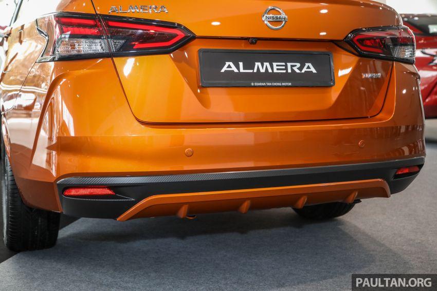 Nissan Almera 2020 di M'sia — perincian lengkap spesifikasi tiga varian, 1.0 liter turbo/CVT, dari RM8Xk Image #1171509