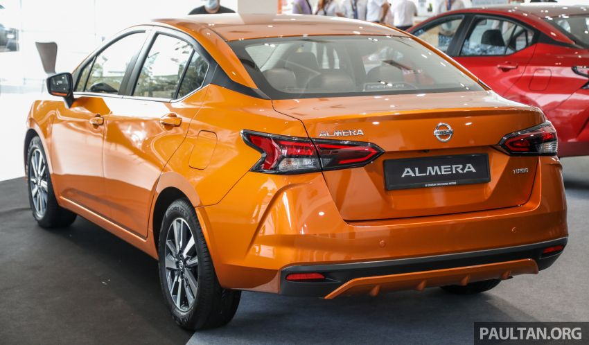 2020 Nissan Almera Turbo in Malaysia – 1.0 litre turbo CVT, AEB on all three variants, from RM8xk to RM9xk Image #1171748