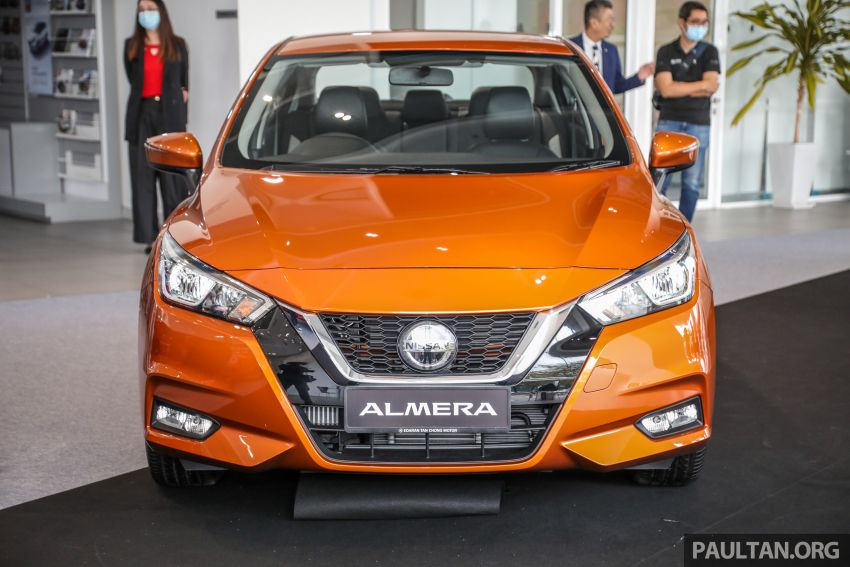2020 Nissan Almera Turbo in Malaysia – 1.0 litre turbo CVT, AEB on all three variants, from RM8xk to RM9xk Image #1171749