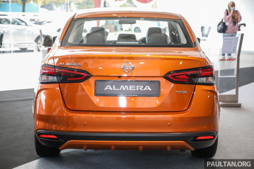 2020 Nissan Almera Turbo in Malaysia – 1.0 litre turbo CVT, AEB on all three variants, from RM8xk to RM9xk Image #1171750